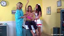 Nicole Aniston Lesbian Threesome thumbnail