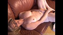 Image: Super sexy older lady plays with her juicy pussy for you