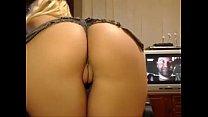 another lazy blonde nice ass webcam model