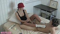Big Tittie Blonde Vanessa Vixon in Shiny Pantyh...