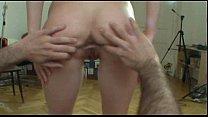 Czech student does sexy naked lapdance