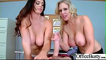 Sex On Cam With Big Melon Tits Office Girl (Alison Tyler & Julia Ann) video-01