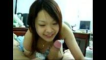 台灣自拍-超可愛女友邊口交邊撒嬌