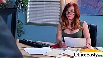 Slut Sexy Girl (Dani Jensen) With Big Round Boobs In Sex Act In Office video-11 porn thumbnail