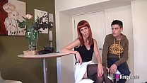 Jordi's very best anal casting to the redhead V...