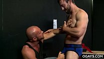 Striptease audition - Matt Stevens, Mike Gaite