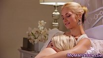 Milf stepmom gets licked