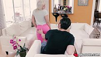 Horny Cleo Vixe n getting banged by huge large d by huge large hard pole