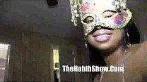 Masked Black : Stripper Luvs It In Her Ass Ghetto Botty Banged