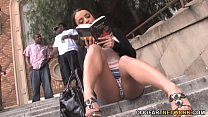 Anal Slut Liza Del Sierra Picked Up By Black Guys thumb