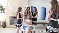 New College Student Bullied by her Freaky Friends thumbnail