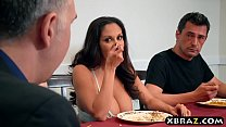 huge tits wife makes sure this annoying guy stays away - sex12 thumbnail