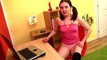 Amateur young teen using sextoys pornhub video