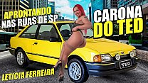 Leticia Ferreira on the ride from Ted # 56 special edition with the polly dance queen - Lidy Silva