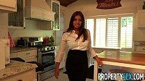 PropertySex - Her big nural tits impress potential client - 9Club.Top