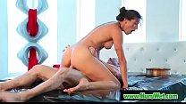 Sensual Afternoon (Rilynn Rae & John Strong) free video-04