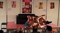 Liz Rainbow e Capitano Eric show privato allo sttand di SpicyLab per ErosPorto18 thumbnail