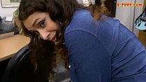 Pawnshop owner fucks hot brunette woman [gand ki chudai] thumbnail