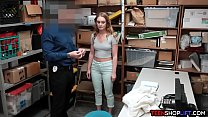 Dumb teen shoplifter with a big ass caught and fucked Vorschaubild
