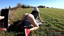 Wonderful Blonde is Hanging out in The Bosom of Nature! AliceMargo.com