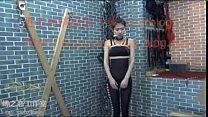 国产情趣连体黑丝女模被捆绑鞭笞 绑架女推销员