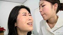 Chut Chati ⁃ japanese lesbian erotic spitting massage clinic subtitled thumbnail