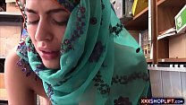 18024 Cute shoplifter chick in a hijab got fucked roughly preview