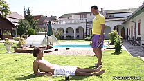 Lovely girl takes father in law cock near pool Preview