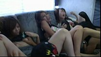 Teen gets so horny over a stiff cock 5