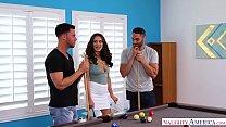 Lana Rhoades Threesome - Cheats & Fucks 2 Guys