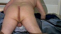 Boy cums wildly in towel