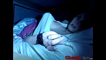 Busty amateur teen masturbates secretly chestycams.com