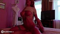 Glamour Babe Romantic Blowjob Dick Stranger and...