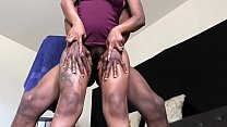 Squirting While Neighbors Outside Window! thumbnail
