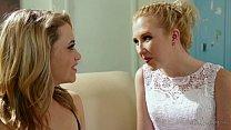 Sexy Blonde Lesbians Samantha Rone and Mia Malkova image
