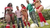 CULIONEROS - Three Curvy Latin Babes With Incre...