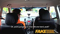Fake Driving School Messy creampie climax for sexy cheating learner - 9Club.Top