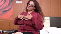 AgedLovE Latina Chubby Granny Fucking Youngster preview image