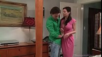MILF fucks a young guy - watch more at teenandm...