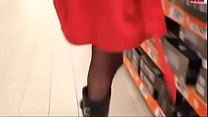 7232 Mom Shopping Flashing in heels Buttplug3. See pt2 at goddessheelsonline.co.uk preview