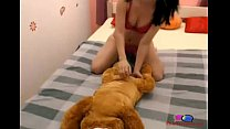 Girl Gives Her Dog Blow Job - Chtercams - 9Club.Top