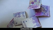LatinLeche - Shy Latin straight guy barebacked on camera for money