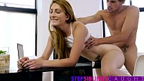 StepSiblingsCaught   Stepsis Tutors Brother In