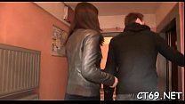 Nice sweetheart gets drilled hard