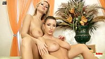 Ashley and Carol fingering and dildoing each ot...