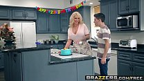Brazzers - Mommy Got Boobs -  My Friends Fucked My Mom scene starring Ryan Conner, Jordi El Ni&ntild porn thumbnail