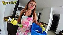 MAMACITAZ - Colombian Maid Sara Alvarez Say YES To Dirty Boss