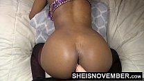 HD Model Msnovember Fat Penis Dildo Mounted Doggy Style Wild Solo Fuck Her Young Tight Skinny Girl black, Vagina Webcam Sheisnovember Thumbnail
