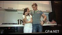 His girlfriend getting drilled hard Vorschaubild