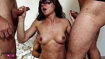 7497 MILF Big Tits Double Blowjob Dicks Muscular Guys and Rough Sex preview
